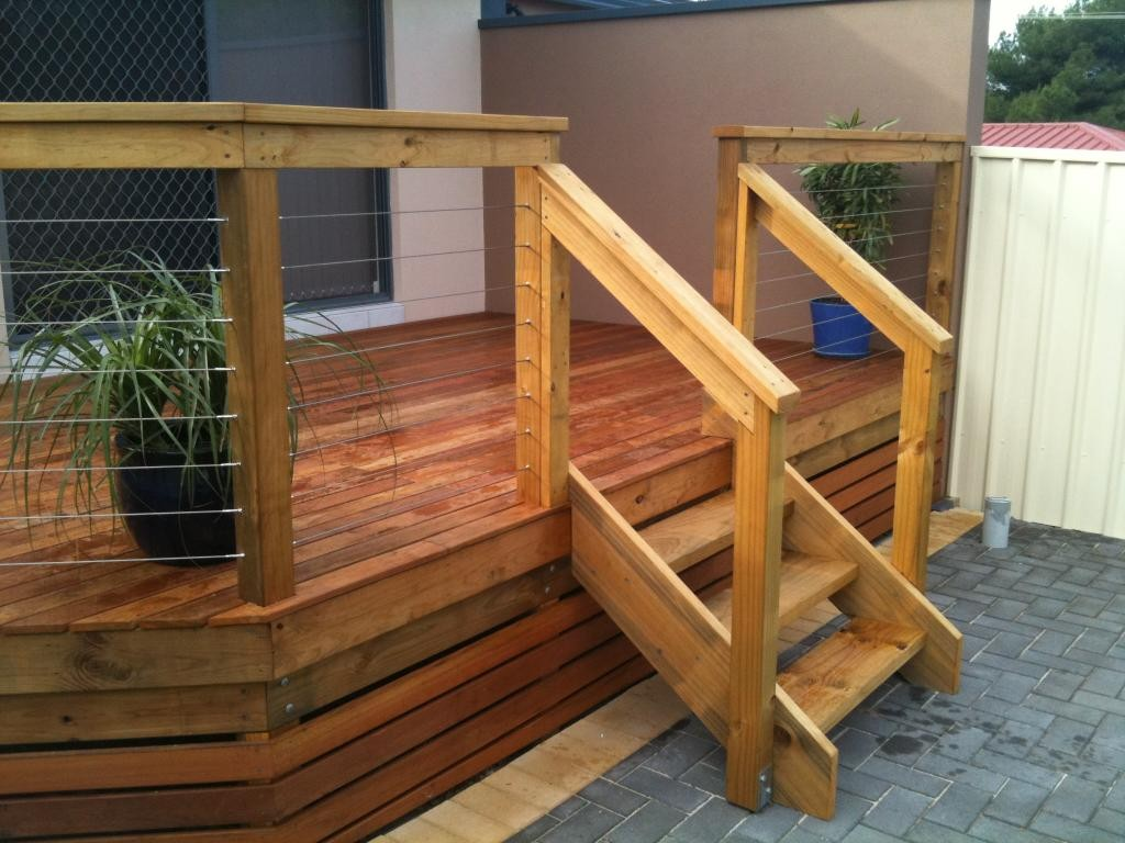 Modern Wooden StairsOutdoor Deck Stairs To Finish Your Project Quinju Com.  Image Of Exterior Stair Treads ...