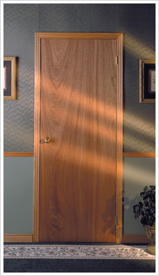 Selecting interior doors for your home for Flush solid core wood interior doors