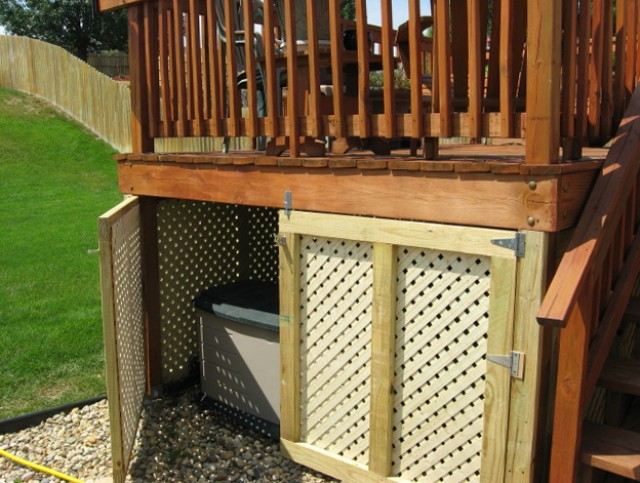 Outdoor storage ideas for your home Deck storage ideas