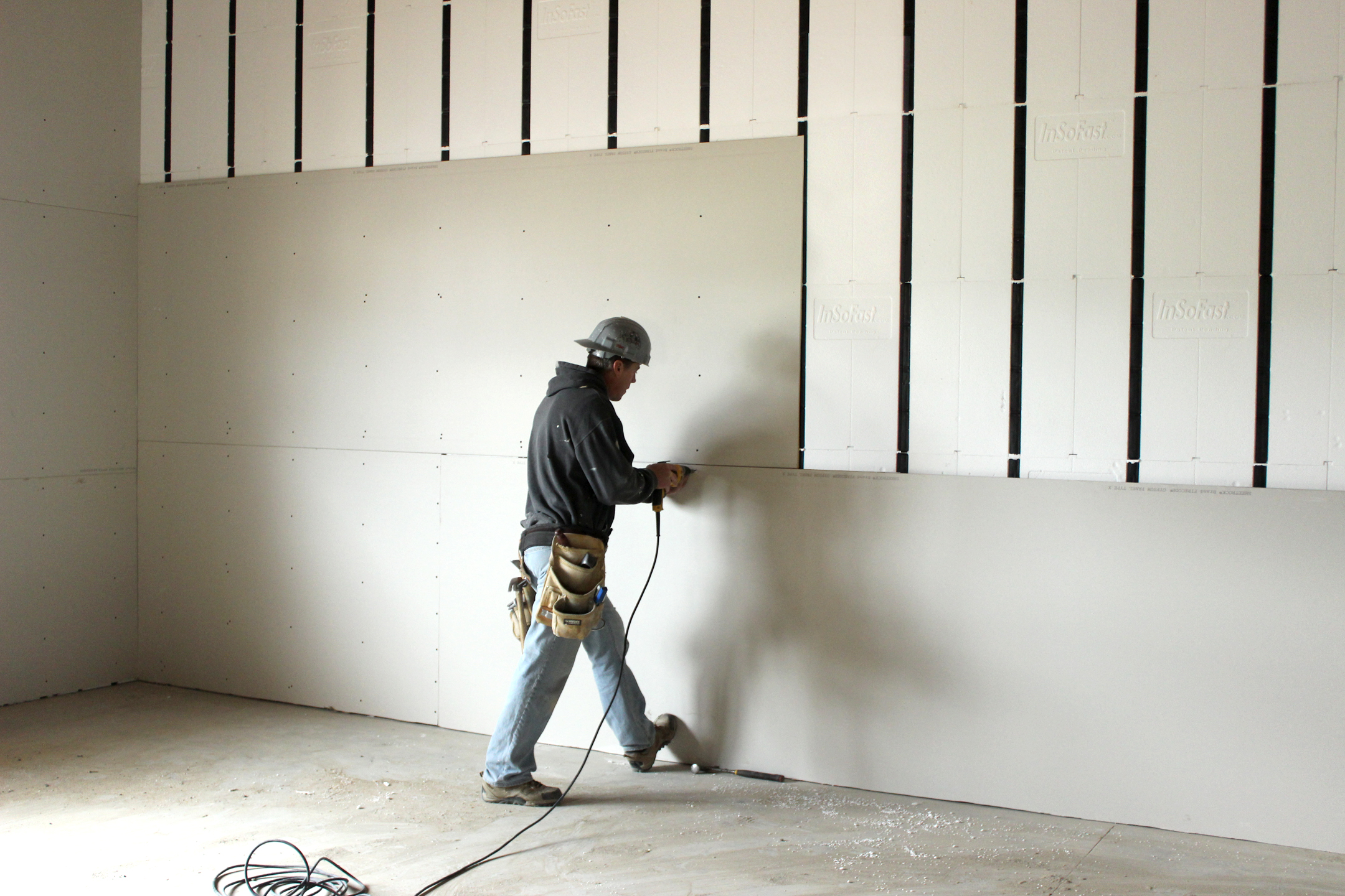 Drywall Gypsum Walls : Icf construction reasons to consider quinju
