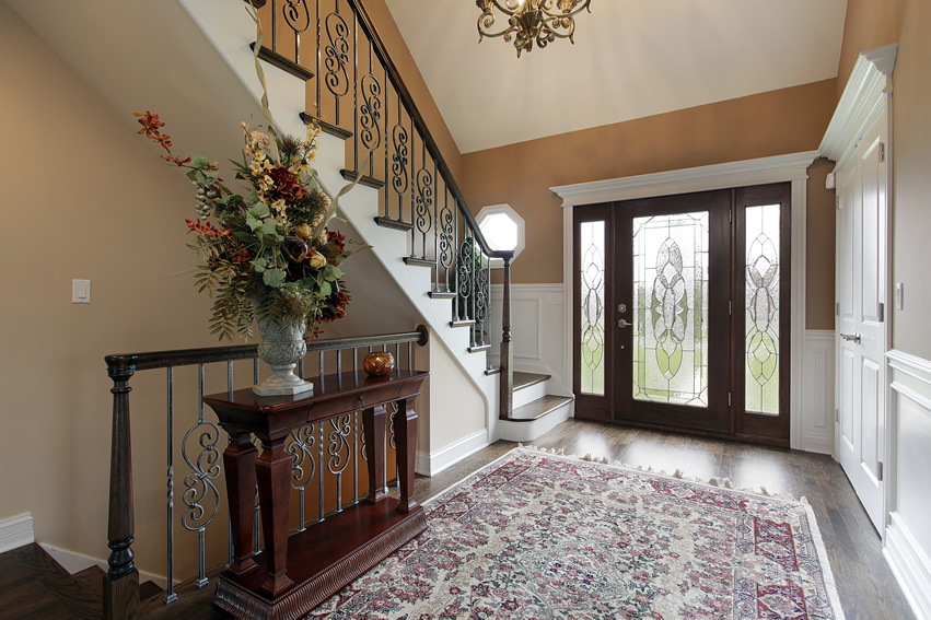 Large Foyer Window Replacement : Natural light for a happier healthier home and family