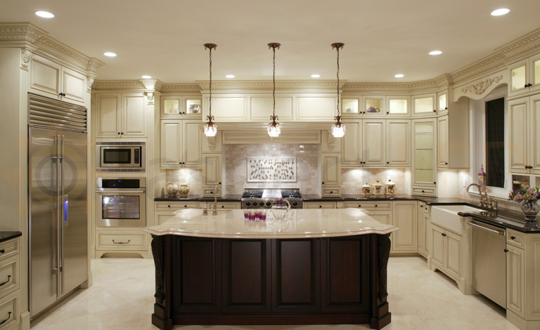 Amazing Pot Lights For Kitchen #14: Recessed Lighting-LED-Elegant Kitchen-quinju.com