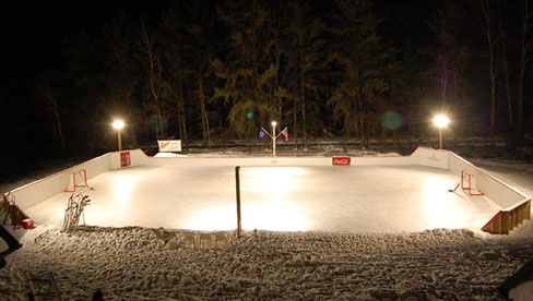 Outdoor Skate Rink   Lighting  Quinju.com