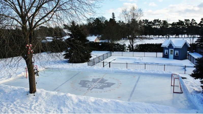 How To Build A Home Ice Hockey Rink