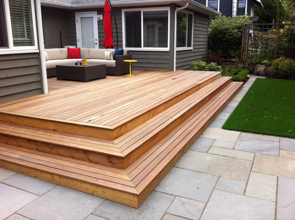 patio-pavers-deck-choices-cedar-wood-patio-quinju.com