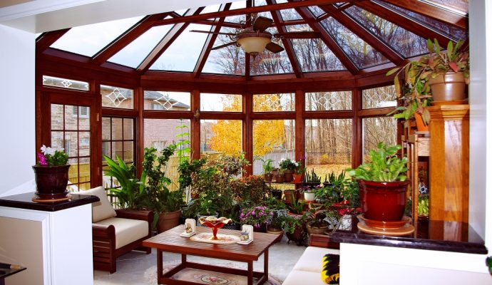 Conservatory Addition / quinju.com