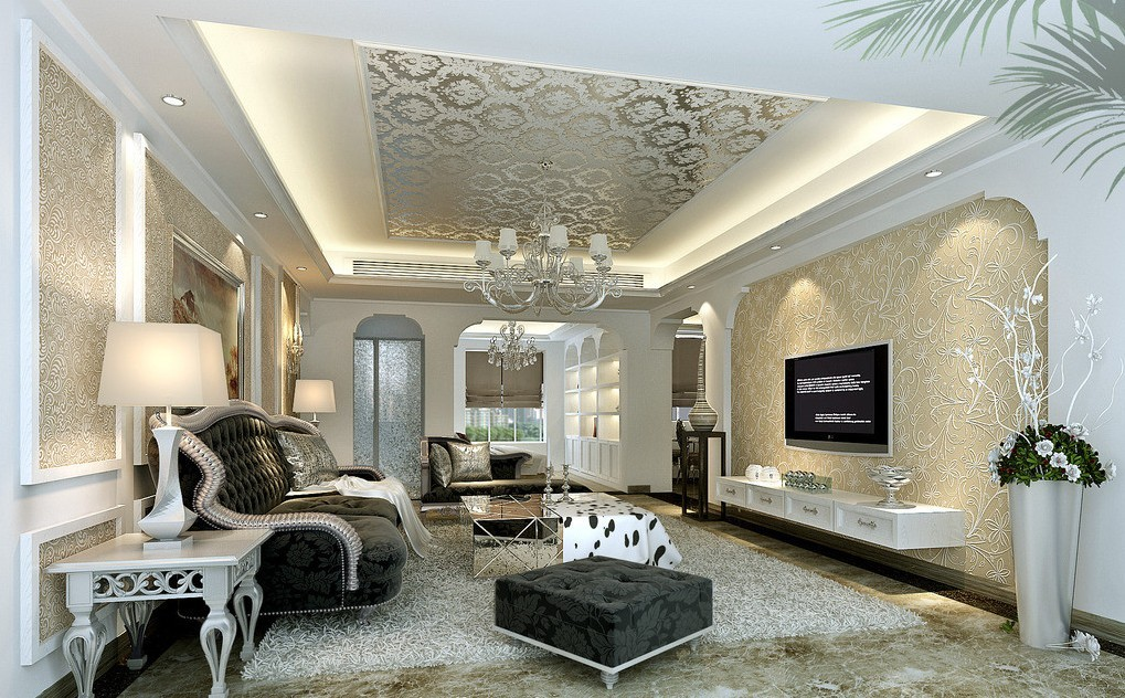 Beautiful Wallpaper Decoration Ideas Wallpaper Designs Quinju.com Part 26